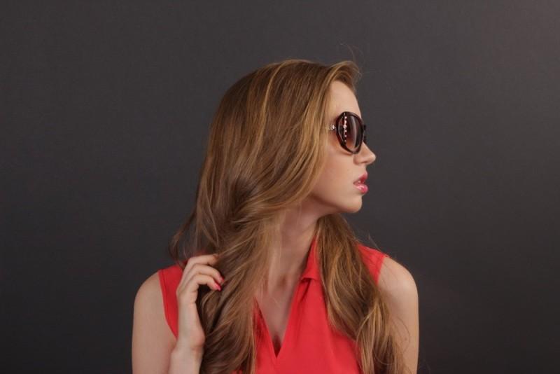 Женские классические очки 56242s-13, фото 6
