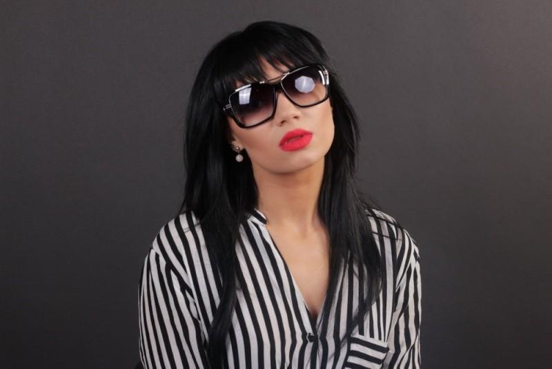 Женские классические очки 56266s-10, фото 4