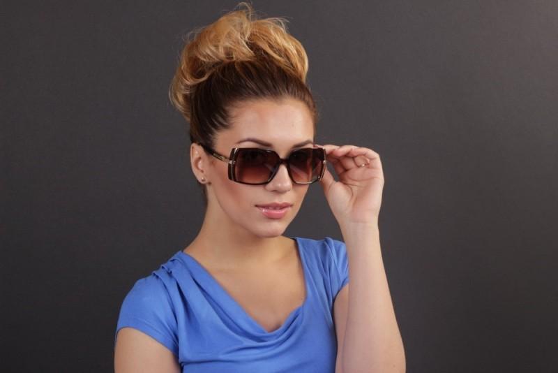 Женские классические очки 56212s-13, фото 4