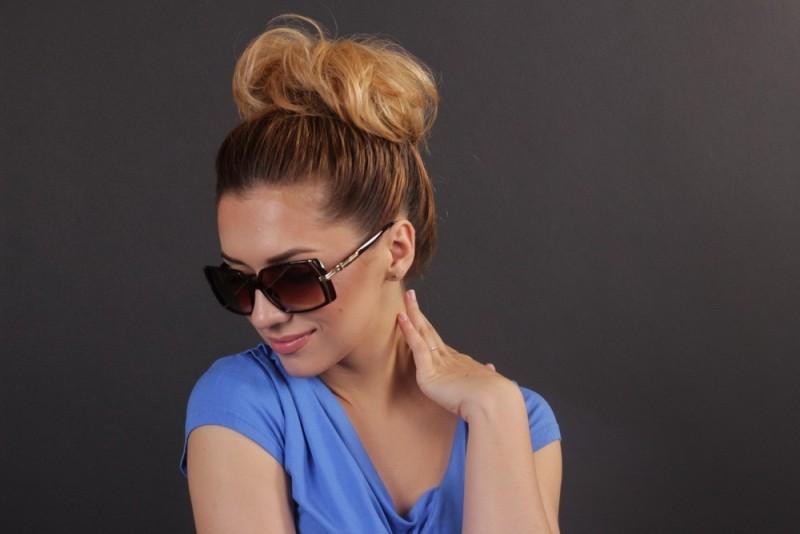 Женские классические очки 56212s-13, фото 6