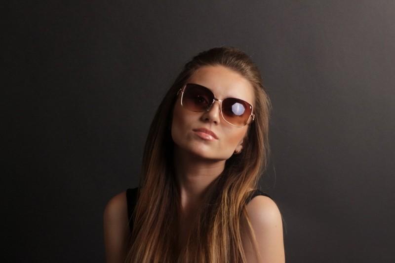 Женские классические очки 58106d-284, фото 4