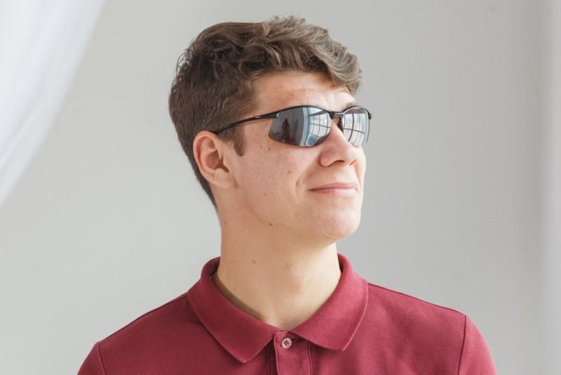Водительские очки S01BG MB, фото 4