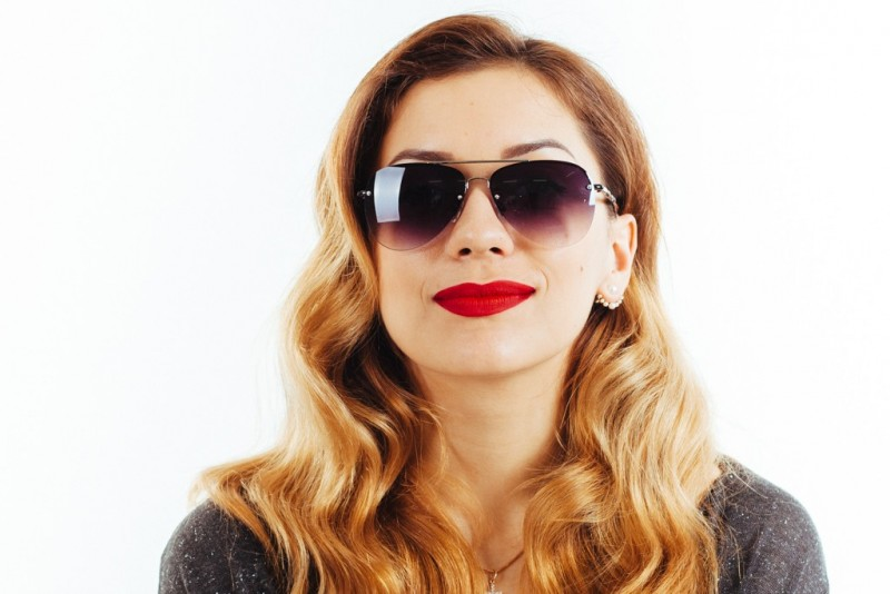 Женские очки капли 1112c15, фото 3