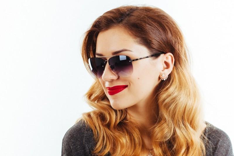 Женские очки капли 1112c15, фото 4