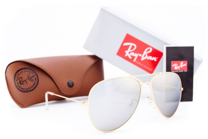 Ray Ban Aviator 3026z-gold, фото 30