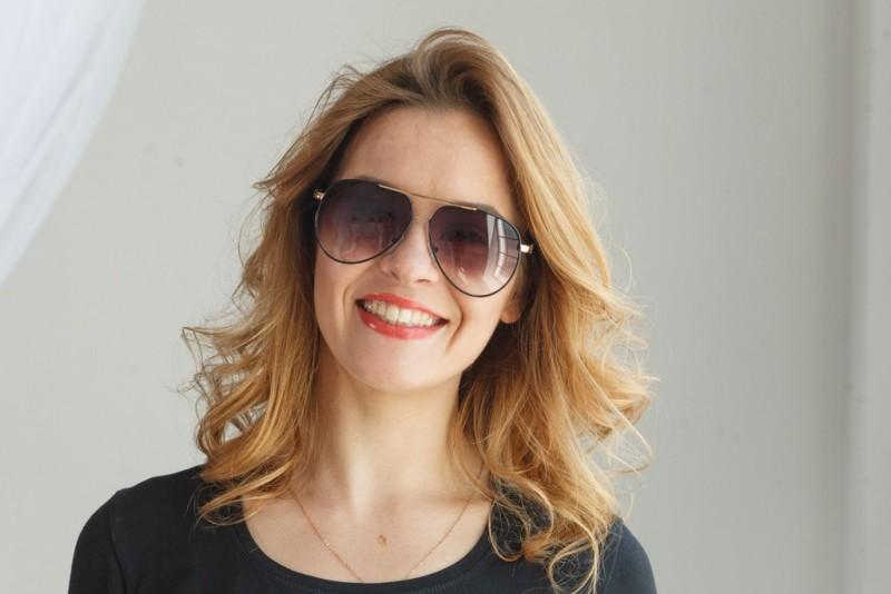 Женские очки капли 713c-20, фото 3