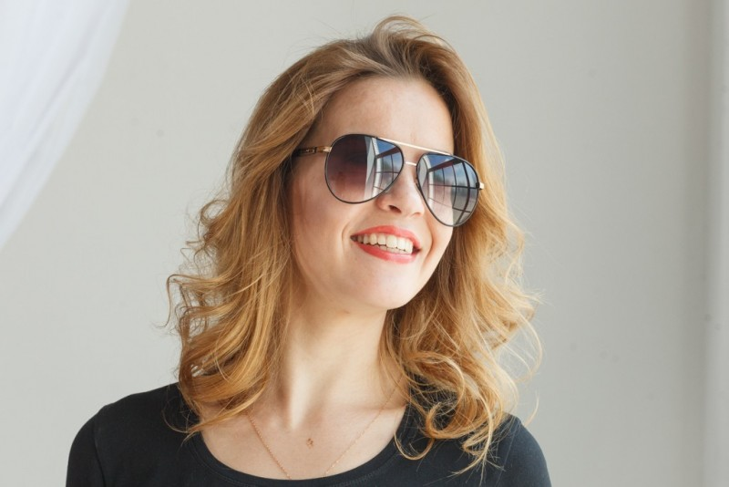 Женские очки капли 713c-20, фото 4
