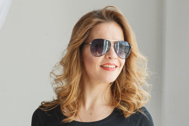 Женские очки капли 713c-15, фото 4