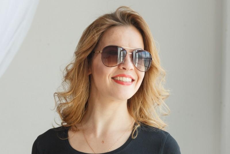 Женские очки капли 763с-40, фото 4
