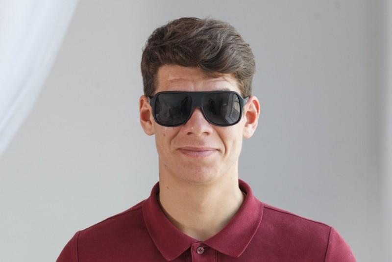 Мужские классические очки 8390br-mt, фото 3