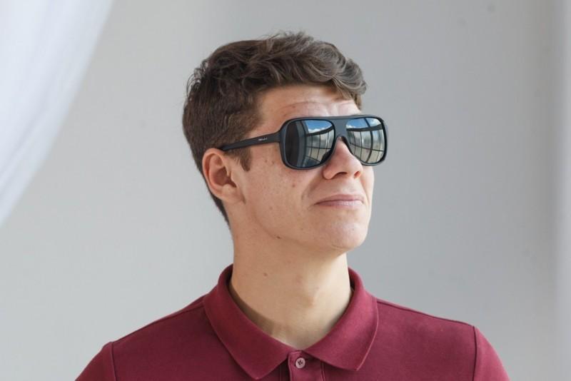 Мужские классические очки 8390br-mt, фото 4