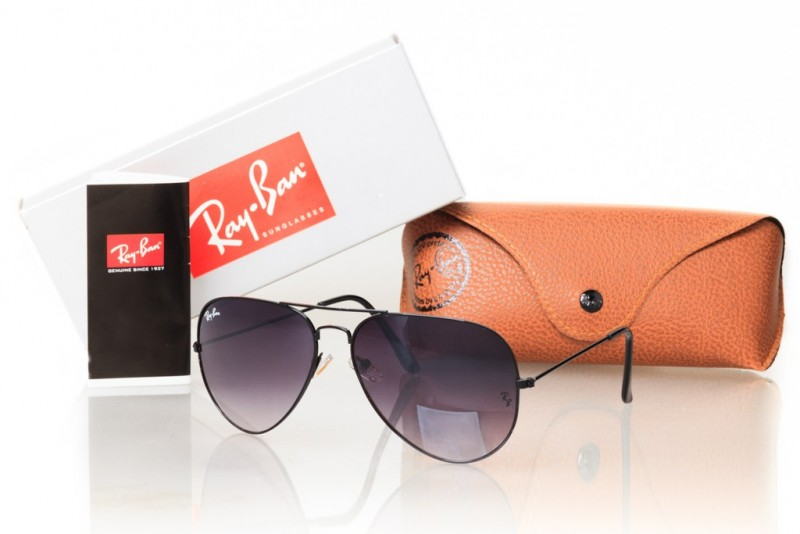 Ray Ban Aviator 3026grey-b, фото 30