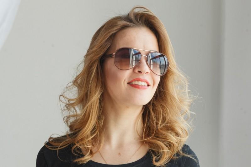 Женские очки капли 1109c17, фото 4