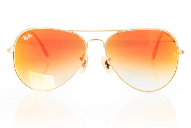 Ray Ban Original 3027orange-g, фото 2