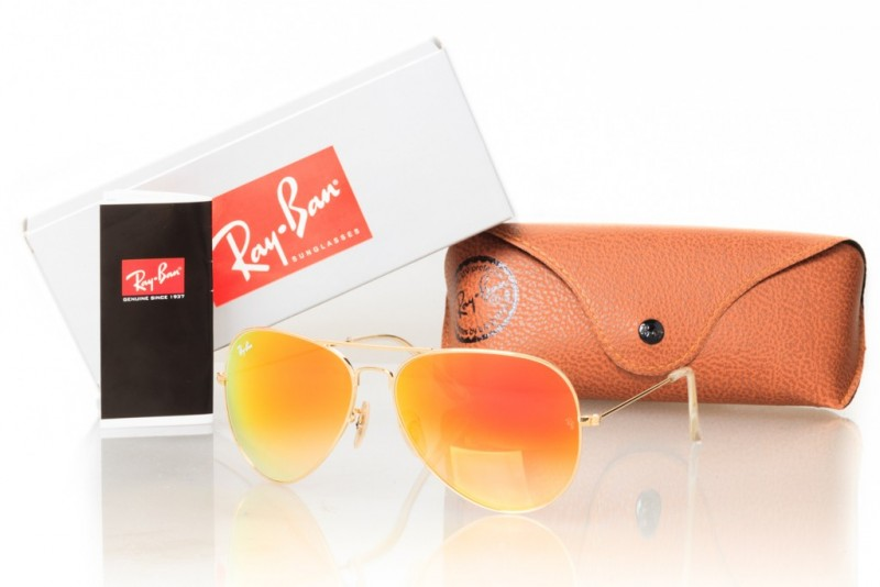 Ray Ban Original 3027orange-g, фото 30