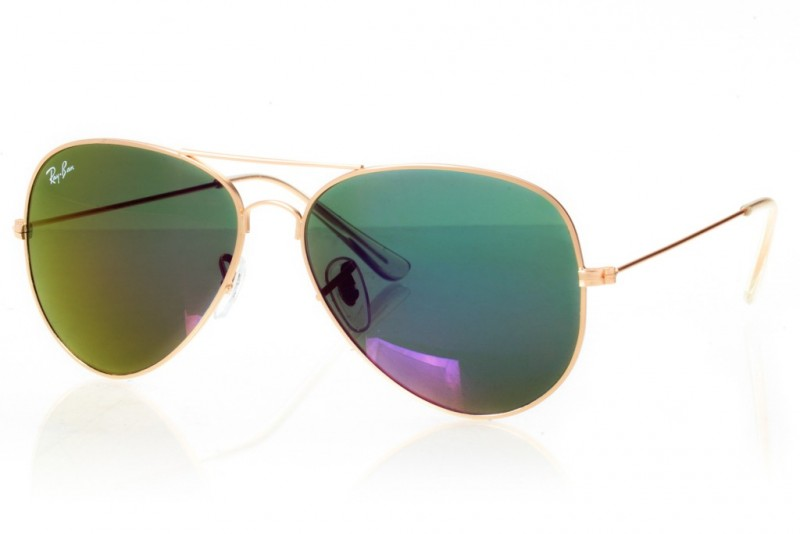 Ray Ban Original 3026f-gold, фото 1