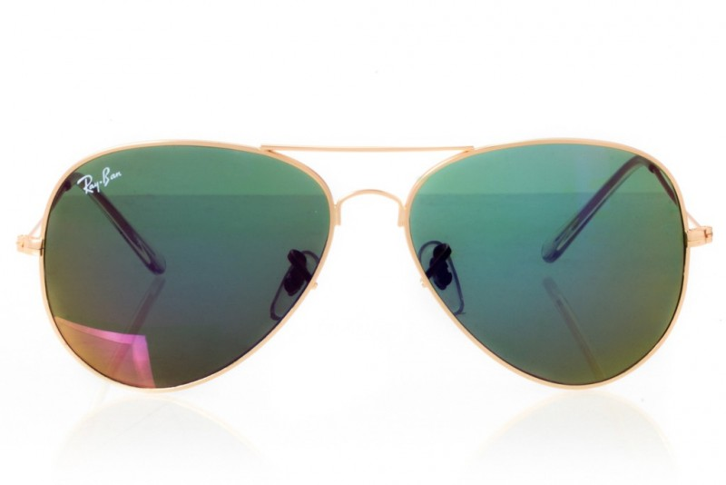 Ray Ban Original 3026f-gold, фото 2