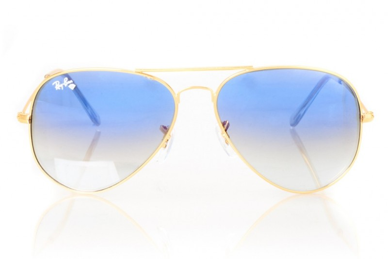 Ray Ban Original 3025D-blue-g, фото 2