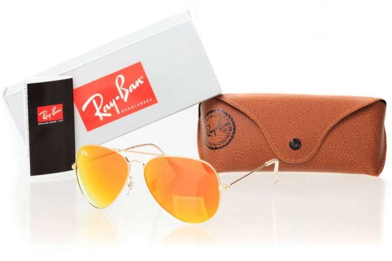 Ray Ban Original 3026D-orange, фото 30