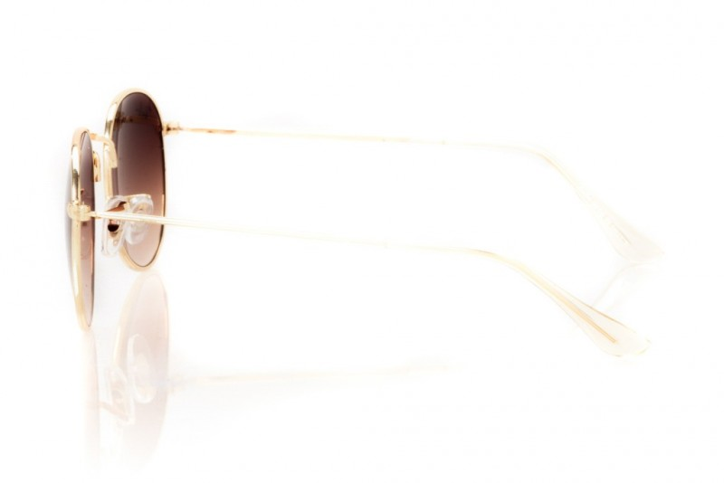 Ray Ban Round Metal 3447d-brown, фото 3