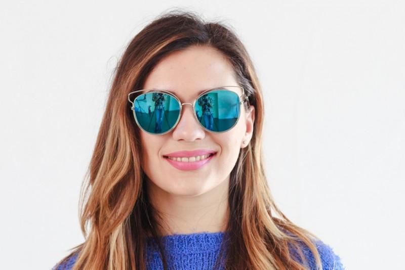 Женские очки 2020 года 3015blue, фото 3