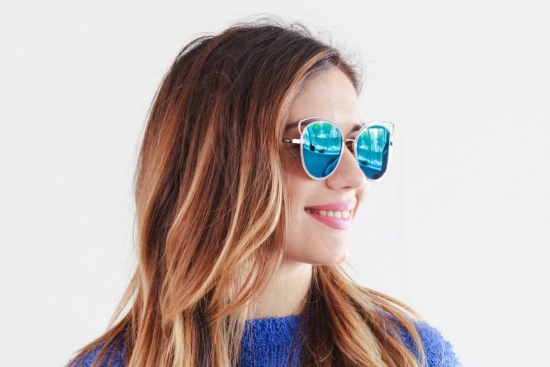 Женские очки 2020 года 3015blue, фото 4
