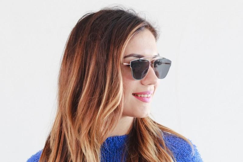 Женские очки 2020 года Dior-Techno-black, фото 4