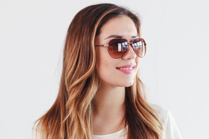 Женские очки капли 1803c2-W, фото 4