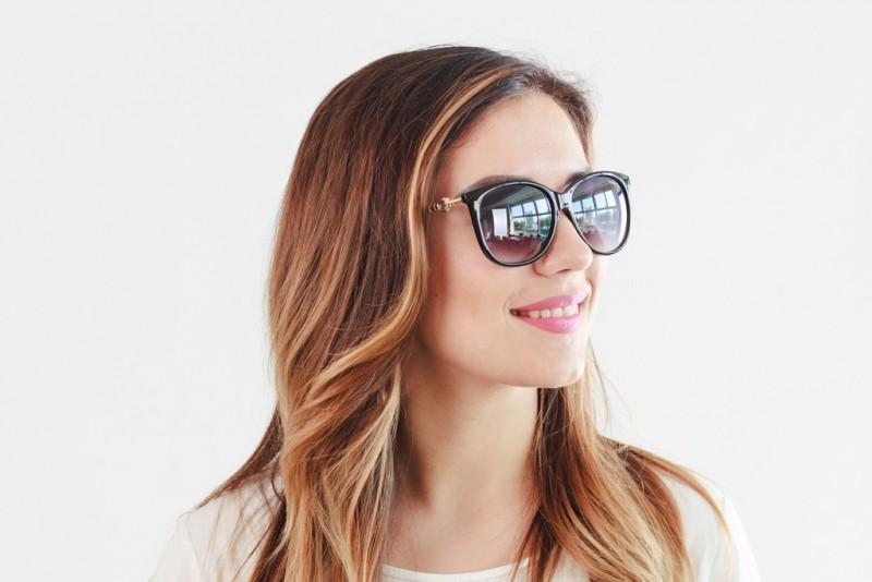 Женские очки 2019 года 2358black, фото 4