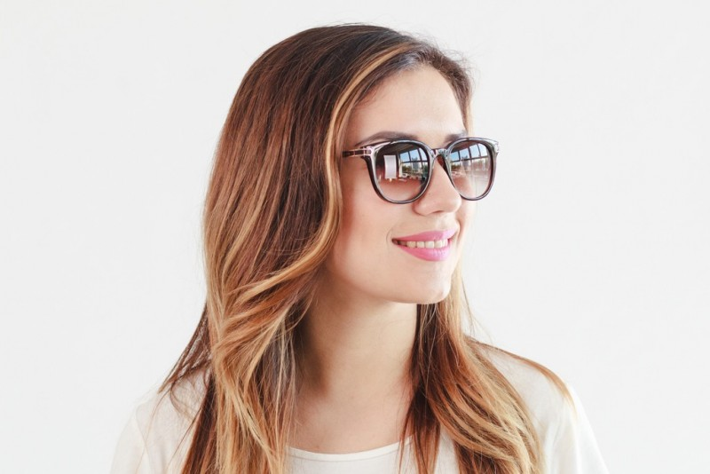 Женские очки 2019 года 0021brown, фото 4