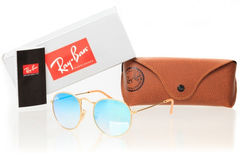 Ray Ban Round Metal 3447seabreeze-gold, фото 30