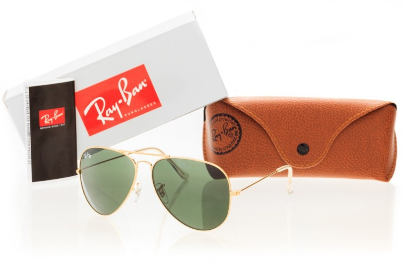 Ray Ban Original 3026D-green-g, фото 30