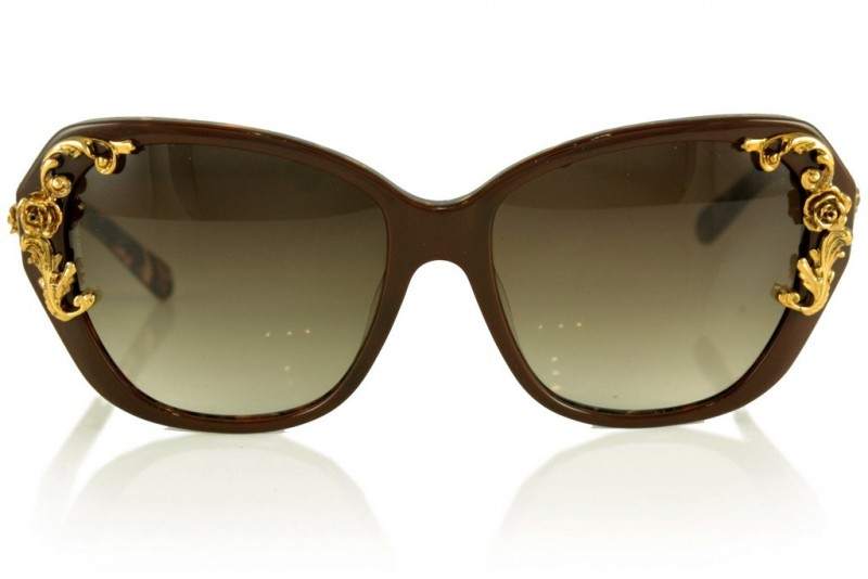 Женские очки Dolce & Gabbana 4167-brown, фото 1