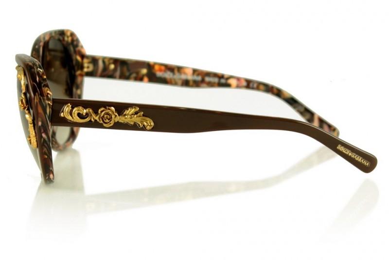 Женские очки Dolce & Gabbana 4167-brown, фото 2
