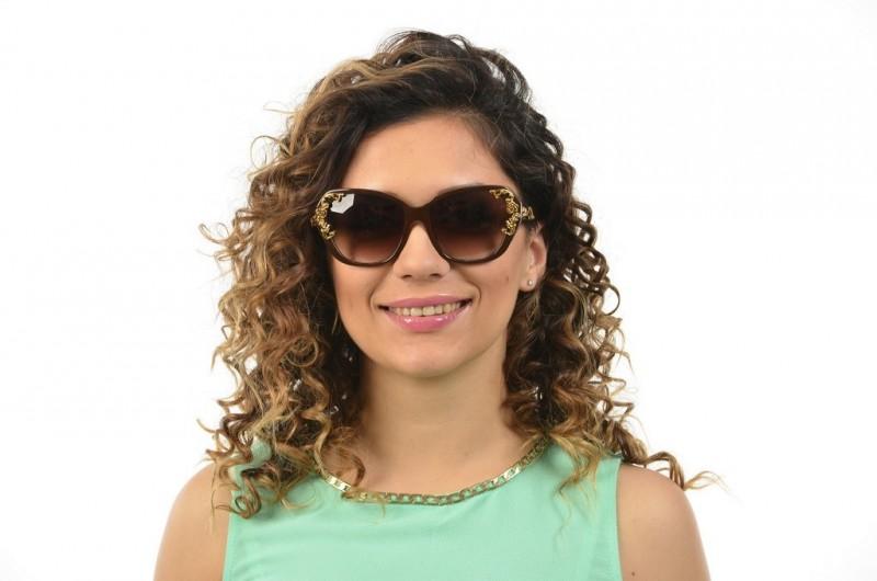 Женские очки Dolce & Gabbana 4167-brown, фото 3