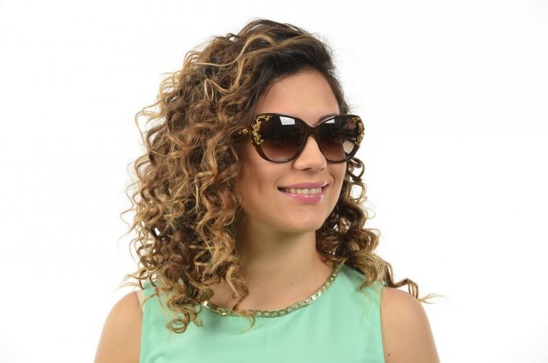 Женские очки Dolce & Gabbana 4167-brown, фото 4