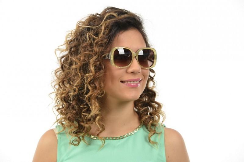 Женские очки Chanel 5234green, фото 4