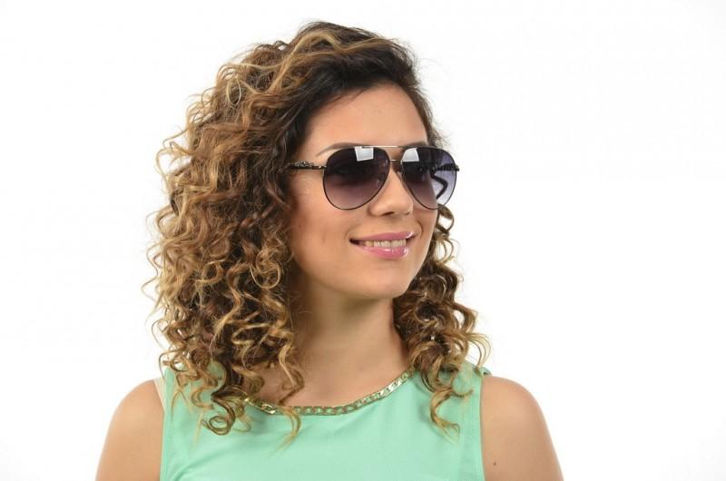 Женские очки Cartier 6125gray, фото 4