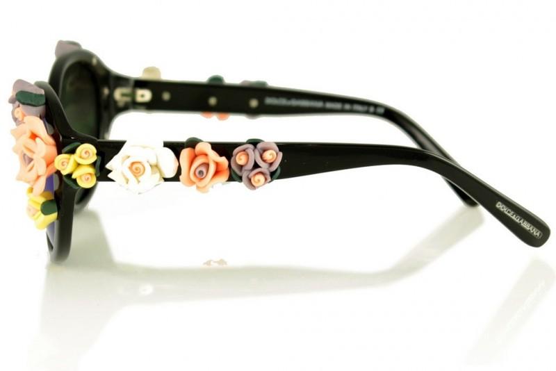 Женские очки Dolce & Gabbana 4180black, фото 2