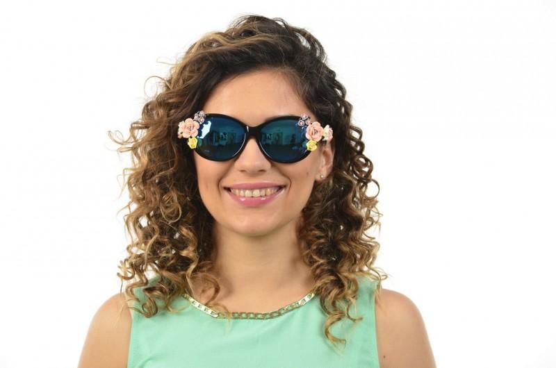 Женские очки Dolce & Gabbana 4180black, фото 3