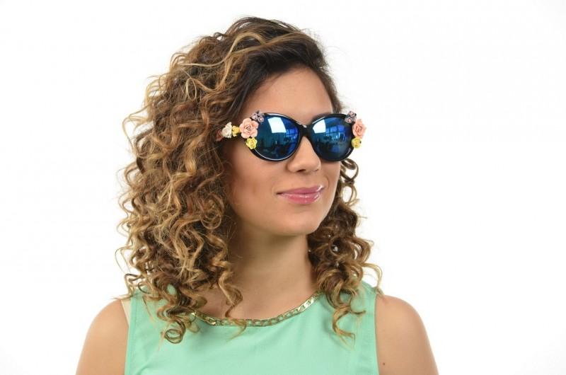 Женские очки Dolce & Gabbana 4180black, фото 4