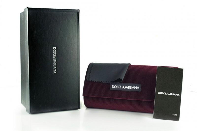 Женские очки Dolce & Gabbana 4180black, фото 5
