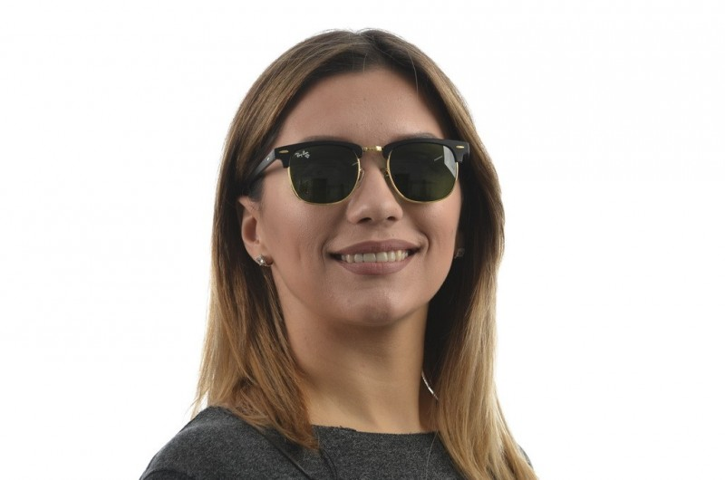 Ray Ban Clubmaster 3016D-3M, фото 4