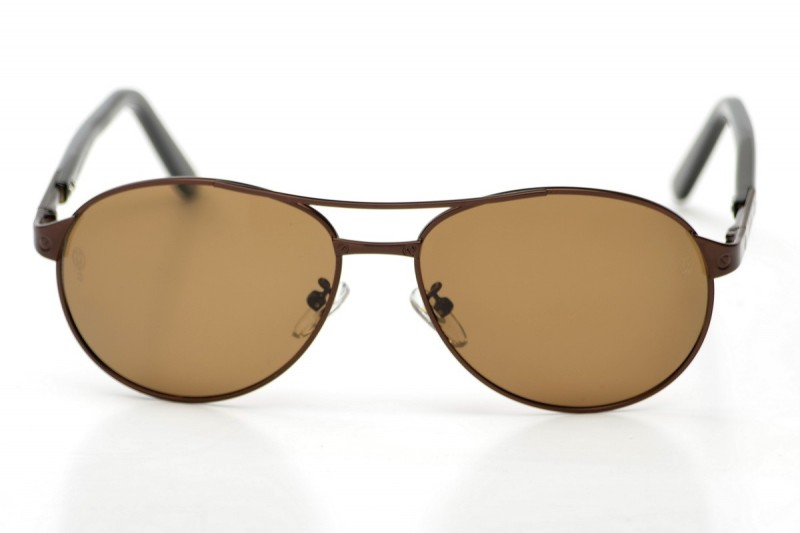 Мужские очки Cartier 8200586bronze, фото 1