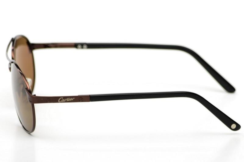 Мужские очки Cartier 8200586bronze, фото 2