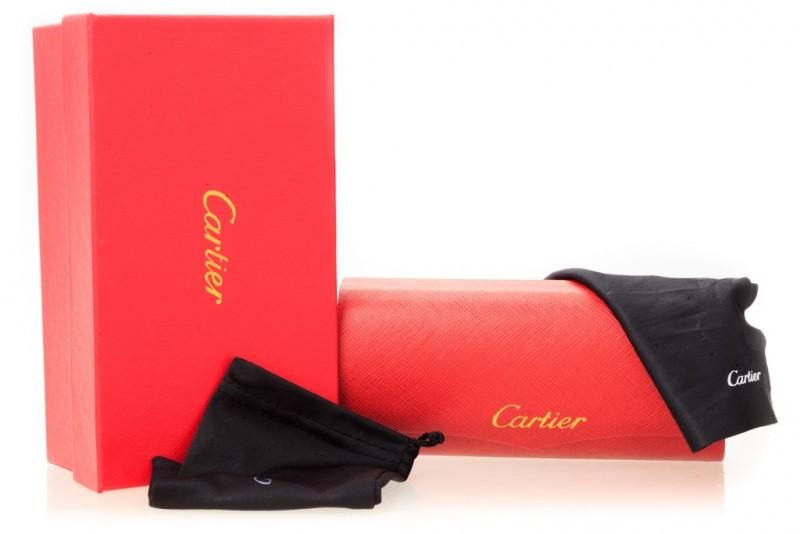 Мужские очки Cartier 8200586bronze, фото 5