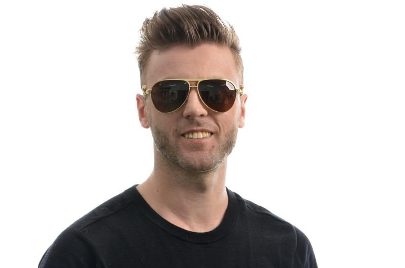 Мужские очки Cartier 820094g-M, фото 3