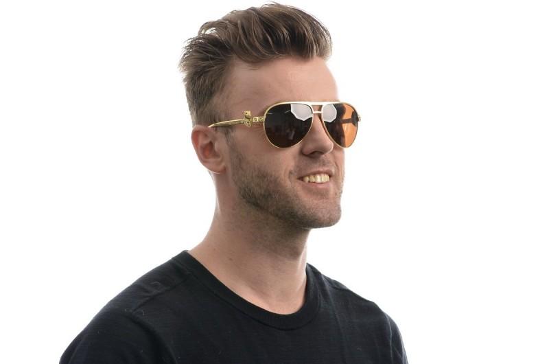 Мужские очки Cartier 820094g-M, фото 4