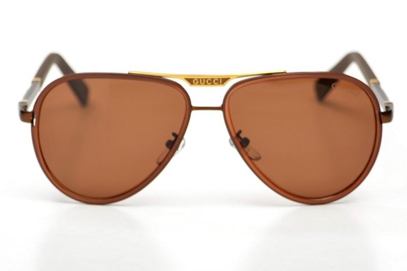 Мужские очки Gucci 874brown-M, фото 1