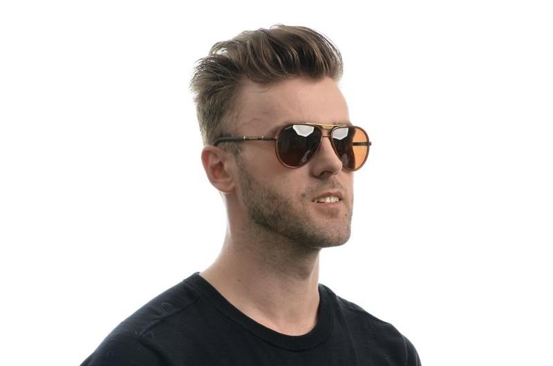 Мужские очки Gucci 874brown-M, фото 4